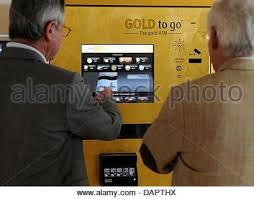 Gold To Go Vending Machine Amazing Gold To Go Gold Atm Gold Vending Machine Dubai Stock Photo 48
