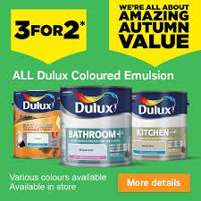 Homebase 3 For 2 On All Dulux Coloured Emulsion Get