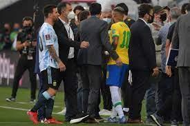 توقف مباراة البرازيل والأرجنتين بسبب مخالفة بروتوكولات «كوفيد»
