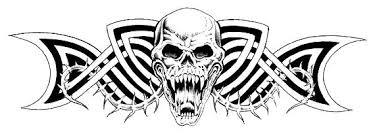 Motiv Lebky Barevné Galerie Tetovánímotivy Pro Tetování