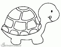Kleurplaten Schildpad Kleurplaten Kleurplaatnl Turtle Coloring