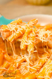 parmesan cheese and mozzarella cheese thicken the sauce and make this dish rich and delicious