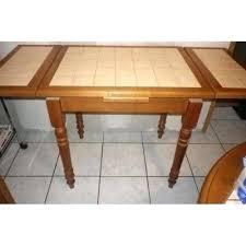 Table Carrelee Cuisine Table Mee Table De Cuisine Ovale Carrelee