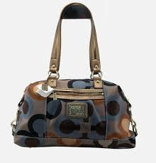 Coach In Signature Large Pink Satchels BBA Outlet Online