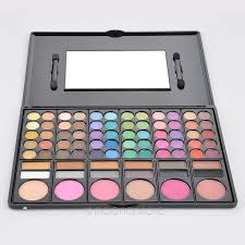 professional makeup palette with 78 color cosmetic tools fast eye shadow blush fadation make up palette