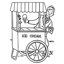 ice cream truck coloring pages. Interesting Pages Theicecreamtruck For Ice Cream Truck Coloring Pages D