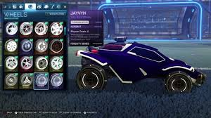 rocket league best wheels top 10