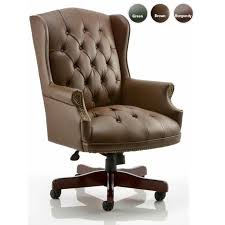 luxury office chairs leather. drumoak large brown leather traditional executive office chairs luxury e