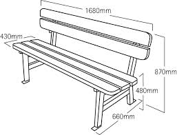 bench seat height. Bench Seat Height Big Length Mm .