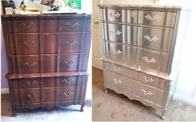 silver painted furniture. Aluminum (Silver) Leafed French Provincial FurnitureCOMPLETED Silver Painted Furniture