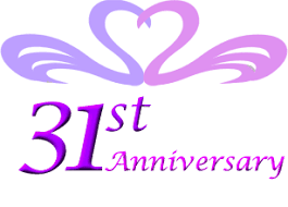31st anniversary gifts