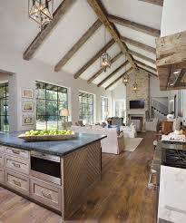 in the great room reclaimed barn oak floors are from floor designs of houston