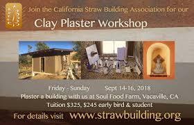 Casba Plaster Workshop Flier Strawbale Com