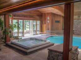 indoor pool and hot tub. Beloved Panoramic Home, Indoor Pool/Hot Tub, Spectacular Views, Walk To Downtown | BNB Daily Pool And Hot Tub Y