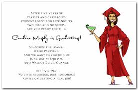 Girl Margarita Graduation Party Invitations Humorous College