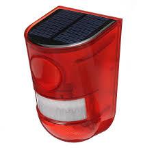 Motion Light With Alarm Solar Alarm Light Wireless Waterproof Motion Sensor Outdoor Garden Security Lamp