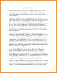 Psychology Personal Statement Example 5 Grad School Personal Statement Examples Pear Tree Digital