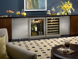 Under Cabinet Wine Racks Built In Wine Cooler Cabinet Mahogany Wood Stainless Steel Wine
