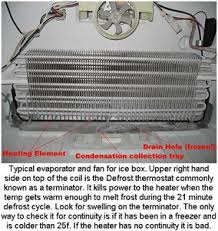 solved manual amana tstata3272 thermostat fixya it is probably going to be a bad defrost heater or defrost jeater terminator thermostat