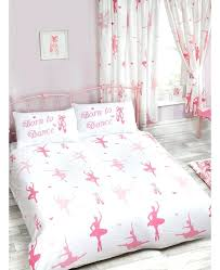 ballerina twin bedding born to double duvet cover and pillowcase set bedding ballerina twin sheet set