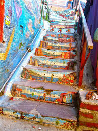 Painted Stairs 25 Most Beautiful Painted Stairs From Around The World Designbump