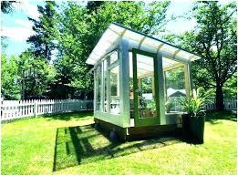 prefab shed office. Prefab Office Shed Studio A Prefabricated Backyard .