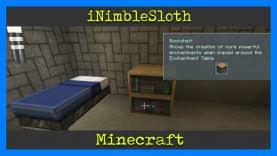 Minecraft How to make a Bookshelf Xbox e iNimbleSloth