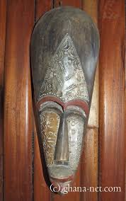picture wooden african mask masks of ghana africa