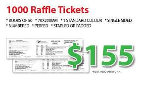 images of raffle tickets raffle tickets printing sydney call avis printing 02 9893 9131