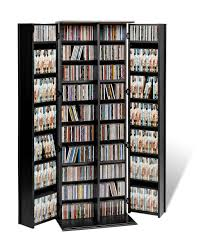 Storage Cabinet With Locking Doors Amazoncom Espresso Grande Locking Media Storage Cabinet With