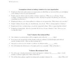 Sample Volunteer Letter Student Recruitment Plan Template Method Design Pattern C