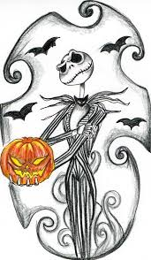Jack Skellington Christmas Coloring Pages For Kids Printable