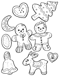 Small Picture Christmas Cookies Coloring Pages To Print