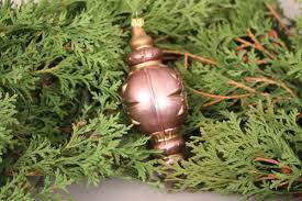 Christbaumschmuck Kugel Spindel Kupfer Reflex Glitter Motiv Glas Weihnachten