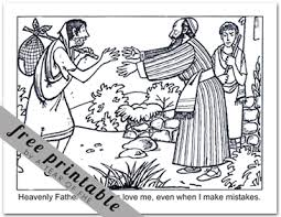 the prodigal son coloring pages. Plain Pages Coloring Pages For The Prodigal Son 2081445 Throughout I