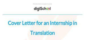 Cover letter examples and templates DigiSchool UK