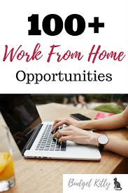 legitimate work from home opportunities that actually work