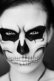 easy skeleton makeup ideas
