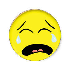 Clipart Sad Face Crying 05