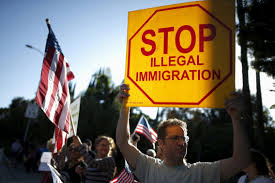 Image result for immigration protests in the US