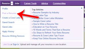 How To Upload A Resume