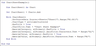 How To Insert A Chart Sheet In Excel Vba Chart Sheets