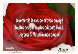 Citations Damour Et Saint Valentin Je Remercie Le Ciel De Mavoir