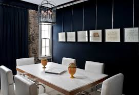 small office idea. Small Office Interior Design With Black Wall Paint Idea