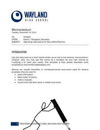 Inter Office Memo Format Memo Format Bonus 48 Memo Templates Hloom