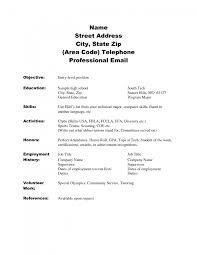 Skills Usa Resume Template Free Download