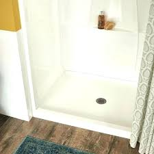 replacing a shower pan how to install delta from home depot fixing replace removing panels