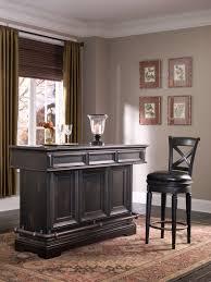 Pulaski Living Room Furniture Pulaski Furniture Rubbed Black Brookfield Bar 993500 By Pulaski
