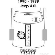 jeep 4 0l firing order 1990 1999 jeep tj mods jeeps
