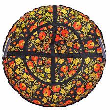 <b>Тюбинг RT</b> Узор <b>Хохлома</b>, диаметр 75см купить в интернет ...